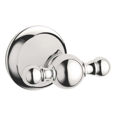 Grohe - Grohe 40159BE0 Robe Hook In Sterling Infinity Finish - Grohe 40159BE0 from the Seabury Faucet Collection recreates the elegance of classical influences while providing modern levels of reliability and function. The Grohe 40159BE0 is a Robe hook With a Sterling Finish for a highly reflective yet warmer appearance than Chrome.