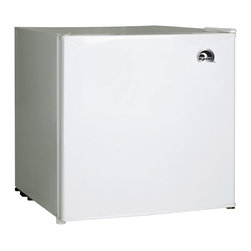Curtis - Igloo 1.7 Cubic-Foot Bar Fridge White - Igloo 1.7 cu. ft. Refrigerator and Freezer. FR100 - White