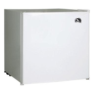 Curtis - Igloo 1.7 Cubic-Foot Bar Fridge White - Igloo 1.7 cu. ft. Refrigerator and Freezer. FR100 - White