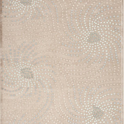 Jaipur Rugs - Transitional Abstract Pattern Blue Viscose/Chenille Rug - FB05, 9x12 - Every design tells a story with the Fables Collection. This broad range, crafted in machine-tufted polyester & ultra-soft chenille, brings any space to life with its fashion-forward color palettes. With options suited to many styles and aesthetics, Fables brings together a diverse collection of patterns ranging from sophisticated transitional to boldly scaled contemporary.