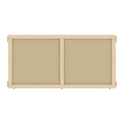 Jonti-Craft - T-Height Hardboard Panel (24 in. W x 24.5 in. H (9 lbs.)) - Choose Size: 24 in. W x 24. 5 in. H (9 lbs. ).