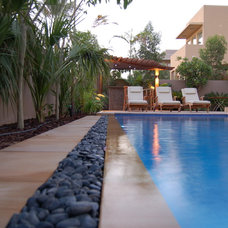 Contemporary Swimming Pools And Spas by Grosvenor Pools