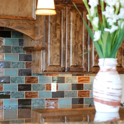 Amazing Artisan Style - These Tiles are handmade and hand-glazed to our custom specifications and available in dozens of colors, all more beautiful than the other. We use these Tiles extensively when Old World Elegance and Charm are of the essence. Art of Tile and Stone. Truly.