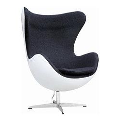 Fine Mod Imports - Fiesta Fiberglass Chair - Features: