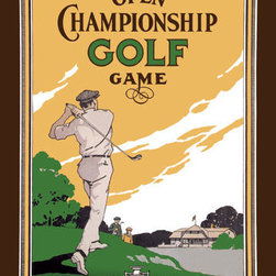 Buyenlarge - Open Championship Golf Game 20x30 poster - Series: Golf
