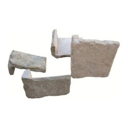 Tilesbay.com - Sample of Valley Corner Sonoma Sand Stone Tile - Sonoma Valley Corner Wall Veneer is a rugged organic and textural, random veneer sandstone cladding corner piece. All loose stone pieces are split on the face and sawn on the back, allowing easy application to suitable substrates with outstanding authentic results. The veneers are pre-packed into set size crates in unit types that are easy to understand, control and install. This random multi colored blend of light and dark browns create a personal look on any install. These corner pieces complement the matching wall cladding that are also available to ensure depth and high level detailing to a finished project. Please keep in mind that a typical size of sample is 4x4 or 6x6.