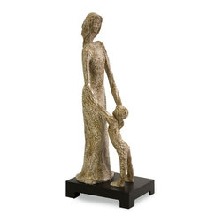 IMAX CORPORATION - CKI Madame with Child Figurine - Studies of the female figure are sought after tabletop accessories and great giftable expressions of beauty. Madame with child. Find home furnishings, decor, and accessories from Posh Urban Furnishings. Beautiful, stylish furniture and decor that will brighten your home instantly. Shop modern, traditional, vintage, and world designs.