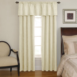 None - Sound Asleep Room-Darkening Ivory Curtain Collection - The Sound Asleep Room-Darkening curtains are the ultimate blend of fashion,function and design. They are developed to address the National Sleep Foundation's recommendations for optimal sleep health.