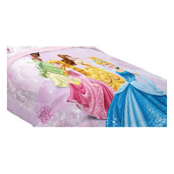 Franco Manufacturing Company INC - Disney Princess Full Bed Comforter Dreams Bloom Bedding - FEATURES: