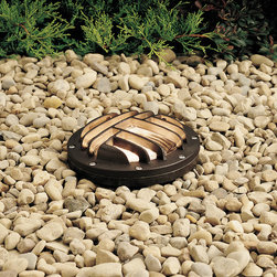 Kichler Accessory Rock Guard Rock Guard - Architectural Bronze - Accessory Rock Guard Rock guard - for use with fixture 15194. Rock guard/glare shield corrosion resistant for use with 15194 well light