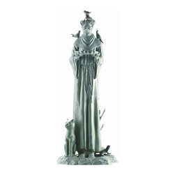 "SPI - Williamsburg St. Francis Garden Sculpture - -Size: 30"" H x 12.5"" W x 11"" D"