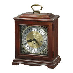 Howard Miller - Howard Miller Key Wound Westminster Chime Mantel Clock | GRAHAM BRACKET - 612437 GRAHAM BRACKET
