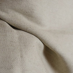 Braemore - New Erin Natural Linen Fabric By The Yard - Neutral colored drapery or curtain fabric. 57% linen and 43% cotton, fairly heavy fabric but looks and feels like linen. Great for pillows, bedding or as an upholstery fabric.