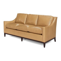 EuroLux Home - New Leather Sofa Classic Chic Top Grain - Product Details