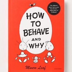 Anthropologie - How To Behave And Why - Paper, cardstock48 pagesUniverse