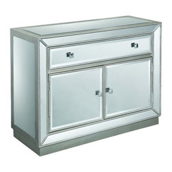 Coast To Coast - One Drawer Two Door Cabinet - 50708 - Door Cabinet