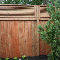 The Stanton Wood Privacy Fence - Here are some great images of a Wood Privacy fence ideas.