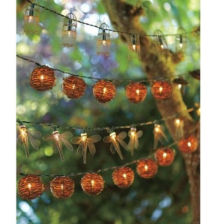 Eclectic Outdoor Rope And String Lights by Pottery Barn