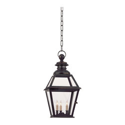 Chelsea Hanging Lantern - If you can live without a fan, a traditional lantern makes for an oh-so-Southern accent.