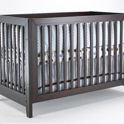 "Sorelle - City Lights Commuter Convertible Crib Set - Designed in multiple beautiful finishes, the City Lights Commuter Convertible Crib from Sorelle brings a modern touch to the everyday nursery. With its clean lines and a modern contrast the City Lights Commuter Convertible Crib will not only add a unique touch to your nursery, but with its toddler bed conversion rail will be used well into your little ones toddler years. Features: -City Lights collection. -Made of poplar wood. -Toddler rail included. -Linens not included. -This is a NON-Drop Side crib. Dimensions: -55"" x 30"" x 37"". This Crib is approved for use in the United States."