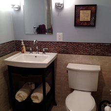 Transitional Bathroom by Lynn Madyson, ASID, IFDA, NKBA