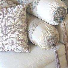 Traditional Decorative Pillows by Saffron Interior Arts
