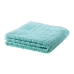 ÅFJÄRDEN Bath towel - Bath towel, green-blue