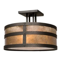 Steel Partners Inc - Round Drop Ceiling Mount - PORTLAND - Every piece we create is unique — handcrafted at our factory in Chehalis, Washington, USA. Due to this, lead times are 2 to 4 weeks.