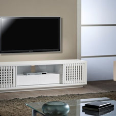 Contemporary Media Storage by Furnitech. LLC