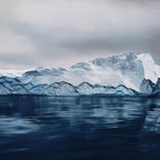ArtStar - Greenland #54 20x24  Black - 40x60 inches is an edition of 25