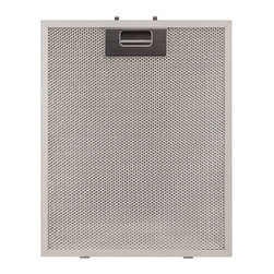 "Replacement Filter for Alrigo Series Stainless Steel Wall-Mount Range Hood - Replace the filter in your 30"" or 36"" Alrigo Series Stainless Steel Wall-Mount Range Hoods easily with this reusable aluminum filter. Dishwasher safe."