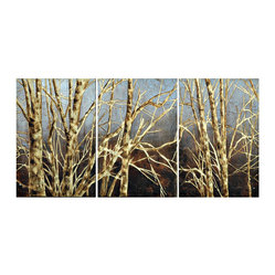"""Winter Birch"" Artwork"