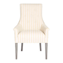 Vanguard Furniture - Vanguard Furniture Nevils Dining Arm Chair V279A - Vanguard Furniture Nevils Dining Arm Chair V279A