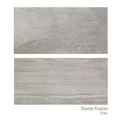 Masonry Center Products - Don Ceramiche Stone Fusion Grey is stocked in size 12 x 24 at The Masonry Center.