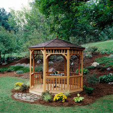 Traditional Gazebos by Backyard Buildings