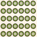 Wabisabi Green - Passion Flower Eco Napkins, Lime/Cream, Set of 4 - This simple, homespun design is sure to delight dinner guests and family members alike. And knowing these napkins are made with recycled polyester, organic cotton and eco-safe inks will encourage you to use them daily.
