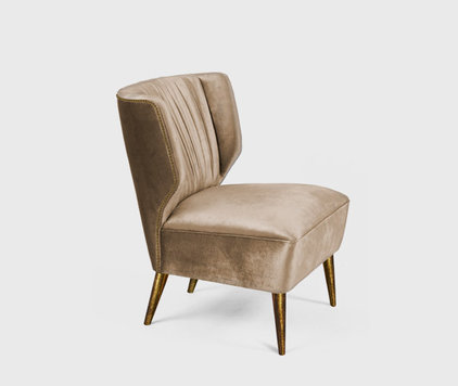 Modern Armchairs And Accent Chairs by BRABBU