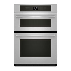 """Jenn-Air 30"""" Combination Microwave/wall Oven, Stainless Steel/Black   JMW2430WS - 4.5 CU FT OVEN CAPACITY"""