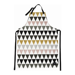 Ferm Living - Triangle Apron - Ferm Living - Ferm Living's apron will spice up your cooking and do it in style! Made from 100% organic cotton.