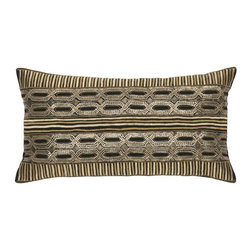 Rizzy Home - Rizzy Home TR4025 Decorative Throw Pillow Multicolor - TR4025 - Shop for Pillowcases and Shams from Hayneedle.com! Glam up your sofa with the Rizzy Home TR4025 Decorative Throw Pillow. This dapper throw pillow is detailed with shimmering gold sequins and elegant embroidery work. Its black and gold color scheme is majestic. This cotton flax pillow includes a hidden side zipper and plush removable insert. Dry clean only.About Rizzy HomeRizwan Ansari and his brother Shamsu come from a family of rug artisans in India. Their design color and production skills have been passed from generation to generation. Known for meticulously crafted handmade wool rugs and quality textiles the Ansari family has built a flourishing home-fashion business from state-of-the-art facilities in India. In 2007 they established a rug-and-textiles distribution center in Calhoun Georgia. With more than 100 000 square feet of warehouse space the U.S. facility allows the company to further build on its reputation for excellence artistry and innovation. Their products include a wide selection of handmade and machine-made rugs as well as designer bed linens duvet sets quilts decorative pillows table linens and more. The family business prides itself on outstanding customer service a variety of price points and an array of designs and weaving techniques.
