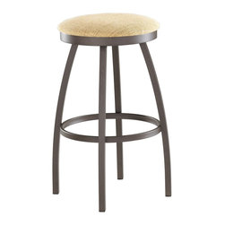 Trica - Trica Henry Swivel Bar Stool - Backless, 26 Inches (Counter Height) - *Available in counter, bar or spectator height