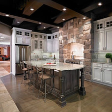 Traditional Kitchen Cabinets by Kitchen Craft Edmonton