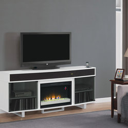 Enterprise Electric Fireplace Entertainment in White - 26MMS9616-NW145