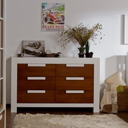 Stylish and practical storage options - 6 Drawers Chest - VENTIANNI Collection