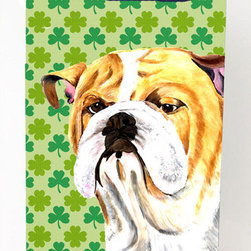 Caroline's Treasures - Bulldog English Shamrock Portrait Michelob Ultra Koozies for slim cans - Bulldog English St. Patrick's Day Shamrock Portrait Michelob Ultra Koozies for slim cans SC9294MUK Fits 12 oz. slim cans for Michelob Ultra, Starbucks Refreshers, Heineken Light, Bud Lite Lime 12 oz., Dry Soda, Coors, Resin, Vitaminwater Energy, and Perrier Cans. Great collapsible koozie. Great to keep track of your beverage and add a bit of flair to a gathering. These are in full color artwork and washable in the washing machine. Design will not come off.