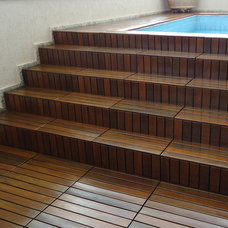 Traditional Floor Tiles by FlexDeck