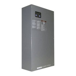 Kohler - Kohler RDT-CFNC-400ASEQS1 Grey Kohler Power Systems 400 Amp Service - 400 Amp Service Entrance Automatic Transfer Switch for use with 30RESA, 38RCL and 48RCL generators less Load Center The transfer switch is the brain of your Kohler home backup power system. It continuously monitors the utility power for an interruption. If utility power fails, the transfer switch automatically starts the power system, transfers the electrical loads and restores power to your home. When utility power resumes, the transfer switch reverses the process again, automatically. Kohler RDT-CFNC-400ASE Features:  Automatically and safely transfers power to and from utility to generator Compatible with Kohler Models 30RESA, 38RCL and 48RCL Generators User-friendly interface with easy-to-read international symbols Aluminum, NEMA 3R outdoor enclosure features corrosion-resistant padlockable enclosure to withstand harsh environments Signals generator to start via contact closure and allows for 5 minute delay in startup of selected loads Two-pole, single-phase open-transition transfer switch Contactor electrically and mechanically interlocked Double throw inherently interlocked design Solid neutral Contactor manually operable for maintenance purposes Silver alloy main contacts 100% equipment rated and can be applied at the rated current without derating Approved for indoor or outdoor installation Service disconnect circuit breaker on the normal (utility) source (80% rated) Circuit breaker for generator set battery charger Circuit breaker for engine heater Auxiliary position-indicating contacts Extraordinary reliability – 5-year/2000-hour warranty  Control Features:   User-friendly interface with easy-to-read international symbols Source available and contactor position indicators