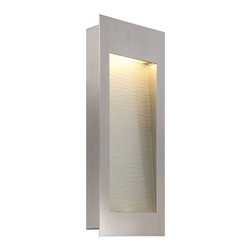 Modern Forms - Modern Forms WS-W1218SS Spa Stainless Steel Outdoor Wall Sconce - Modern Forms WS-W1218SS Spa Stainless Steel Outdoor Wall Sconce