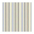 Pale Blue & Tan Stripe Linen Fabric - Breezy linen stripe of sky blue, gray & ivory feels soft, serene and sophisticated.Recover your chair. Upholster a wall. Create a framed piece of art. Sew your own home accent. Whatever your decorating project, Loom's gorgeous, designer fabrics by the yard are up to the challenge!
