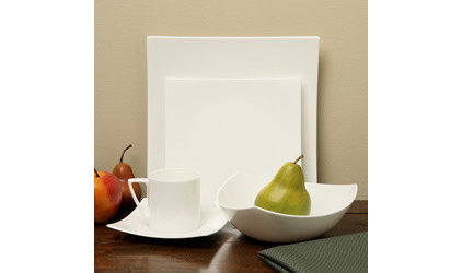 contemporary dinnerware by Overstock